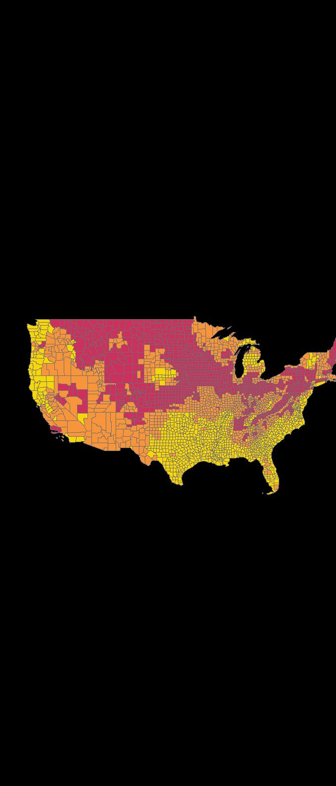 Epa Radon Zones With State Information - Radon-map-us